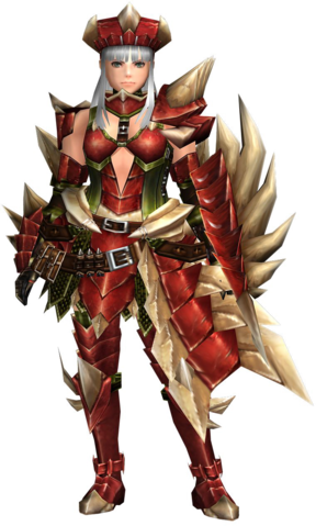 File:FrontierGen-Crimson Rock G Armor (Gunner) (Female) Render 001.png