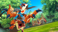MHST-Rathalos and Tigrex Screenshot 003