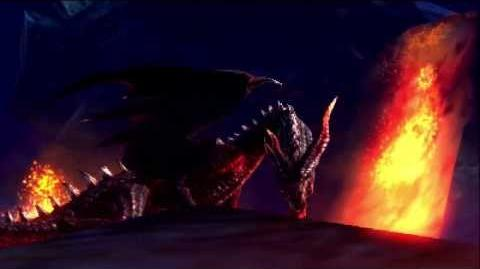 Kogath - Monster Hunter 4 - Crimson Fatalis Intro
