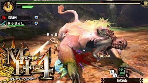 Monster Hunter 4 Nubcakes 15 - Congalala English commentary online gameplay