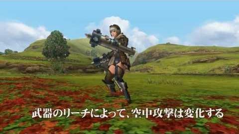 MHF-G『新武器種「穿龍棍」空中攻撃』