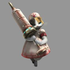 MH4-Palico Equipment Render 006