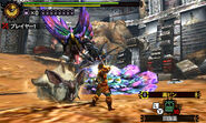 MH4U-Lagombi and Tidal Najarala Screenshot 001