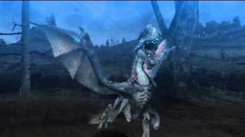 "Monster Hunter Freedom Unite -- ""The Poison Gypceros"" (Gypceros Intro)"