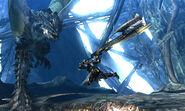 MH4U-Azure Rathalos Screenshot 003