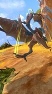 MHSP-Blue Yian Kut-Ku and Rathian Screenshot 001