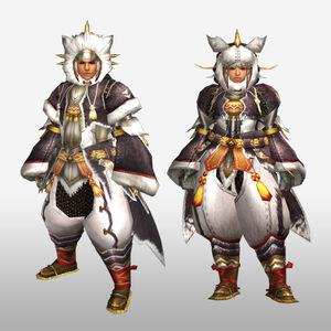 FrontierGen-Pokara G Armor (Blademaster) (Front) Render