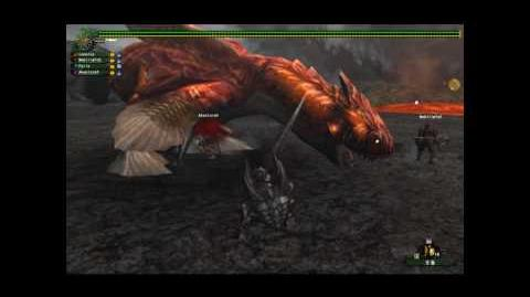 Monster Hunter Frontier Korea - Red Volganos Quick Kill -