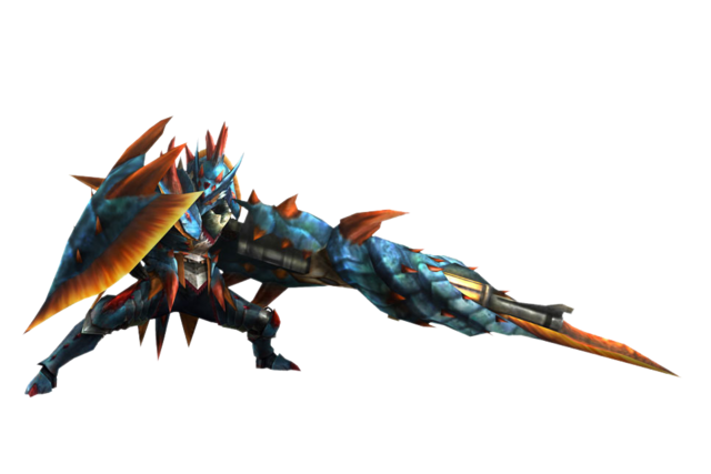 File:MH3U-Gunlance Equipment Render 001.png