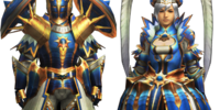 Star Rook Armor (Blademaster) (MH4)