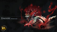 MH 10th Anniversary-Stygian Zinogre Wallpaper 001