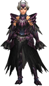 FrontierGen-Gore Armor (Blademaster) (Female) Render 001