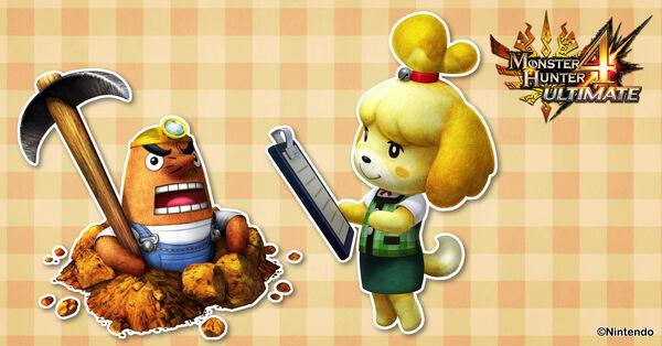 MH4U-Animal Crossing 001