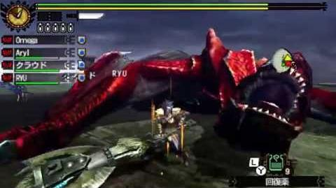 Monster Hunter 4G - G Rank Quests 18 Red Tigrex モンスターハンター4G