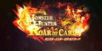 Monster Hunter Roar of Cards