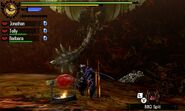 MH4U-Azure Rathalos Screenshot 014