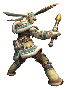 File:MHP3-Dual Blades Equipment Render 001.png