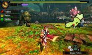 MH4U-Deviljho and Ruby Basarios Screenshot 002