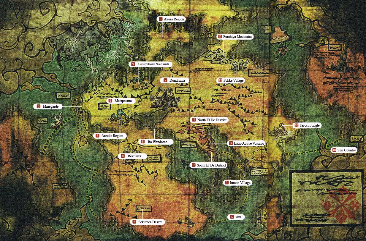 World Of Monster Hunter Monster Hunter Wiki Fandom