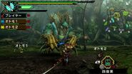 MHP3RD Zinogre charge