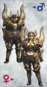 MH3U Diablos Armor (Blade)