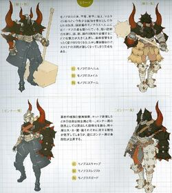 Monster hunter freedom 2 conceptart Monoblos byMoY