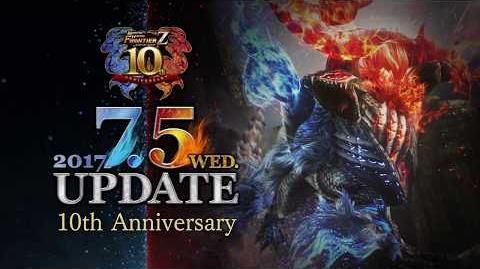 MHF-Z『10周年記念大型アップデート』 プロモーションムービー