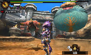 MH4U-Congalala and Tigerstripe Zamtrios Screenshot 003