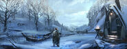 MHO-Yilufa Snowy Mountains Concept Art 002