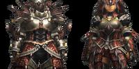 EX Rathalos Armor (Blademaster) (MH4U)