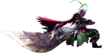 MH4U-Long Sword Equipment Render 001
