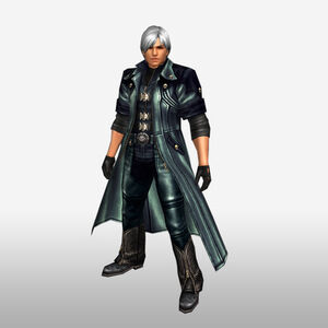 FrontierGen-Dante Armor 008 (Male) (Both) (Front) Render