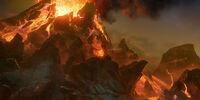 Ghost Rune Volcanoes