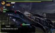 MH4U-Silver Rathalos Screenshot 004