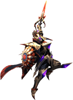 MH4U-Sword and Shield Equipment Render 001