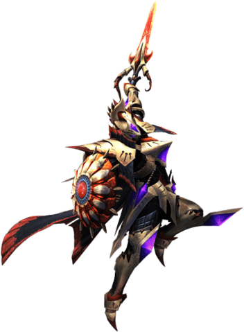 File:MH4U-Sword and Shield Equipment Render 001.png