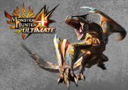 MH4U-Tigrex Wallpaper 001