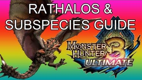 Monster Hunter 3 Ultimate - G2★ Rathalos & Azure guide リオレウス亜種-1
