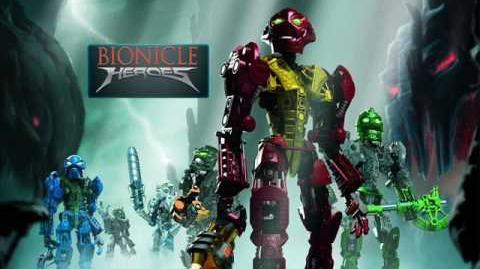 Bionicle Heroes Soundtrack - Zaktan's Battle