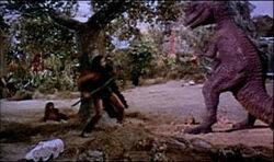 One Million Years BC 1966 Ray Harryhausen Dynamation dinoloop
