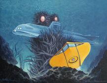 Deadly creature below holderbaum