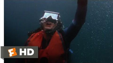 Jaws 2 (5 9) Movie CLIP - Underwater Scare (1978) HD