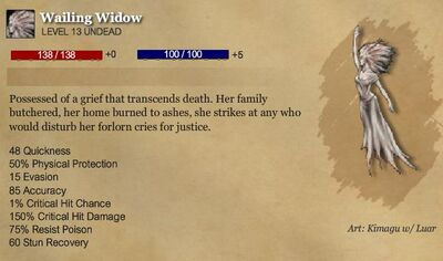 Wailing Widow