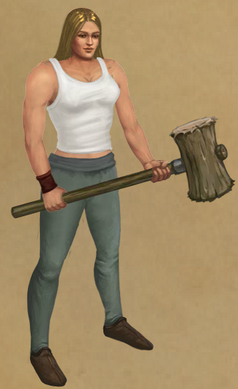 Hill Giant's Mallet