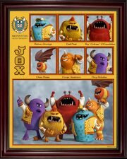 JOX Monsters university 1