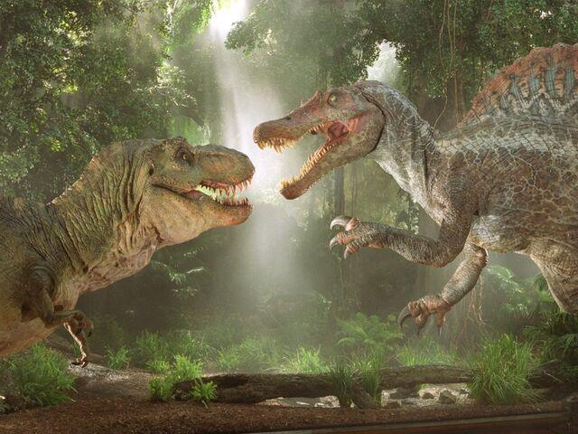 File:Spinosaurus vs. T-Rex.jpg