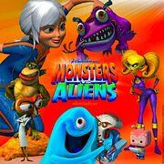 Monsters versus aliens by joseph11stanton-d64n4r5