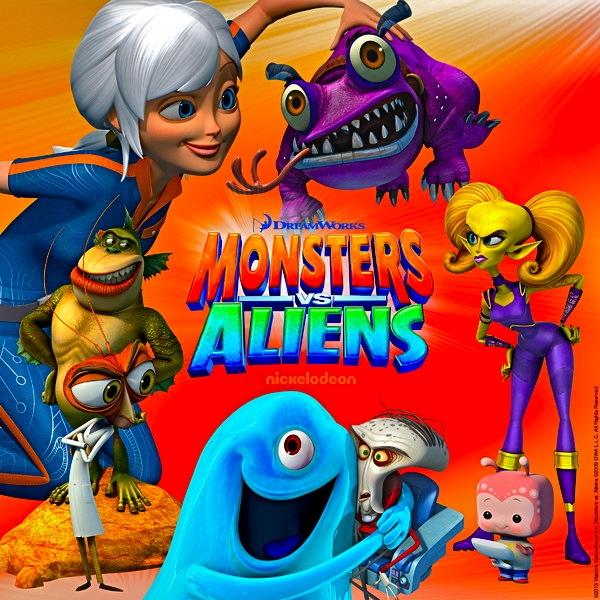 Aliens porn versus monsters