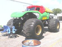Tmnt monster truck by hansomedadude-d4yvek5