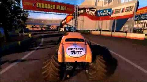 Monster Jam- Monster Jam- Path of Destruction - Grave Digger Monster Truck Commercial Spot